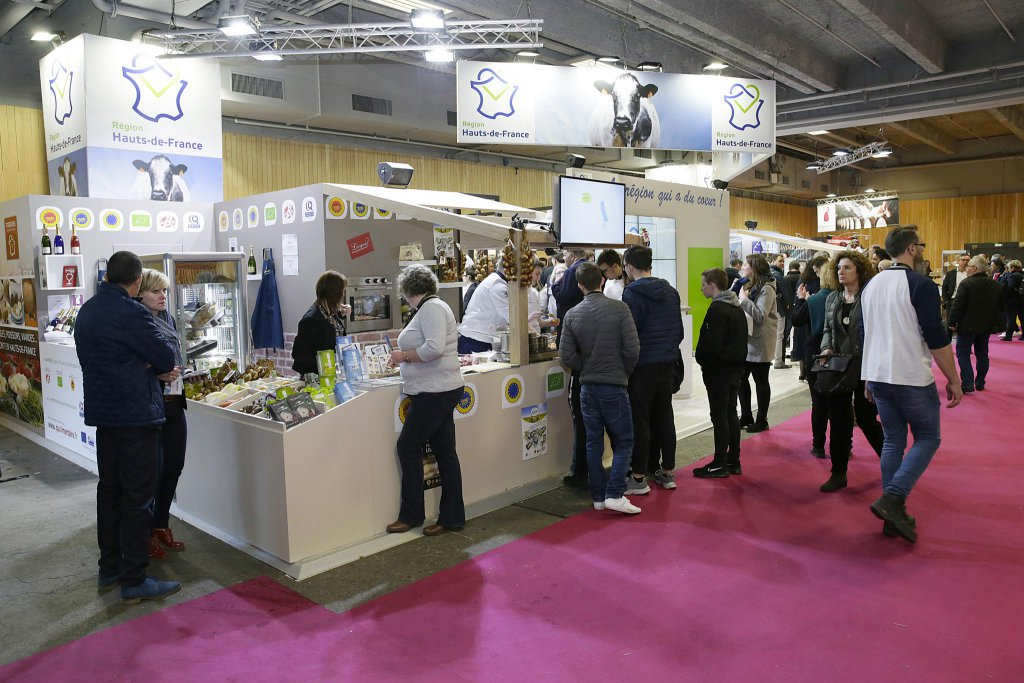 La r gion au salon international de l 39 agriculture r gion hauts de france - Salon agriculture adresse ...