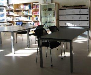 Salle de consultation des archives